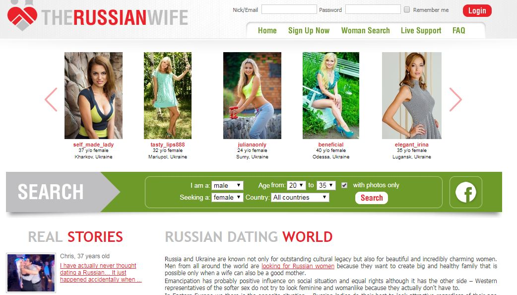 the russian wife